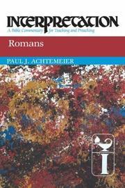 Romans by Paul J Achtemeier image