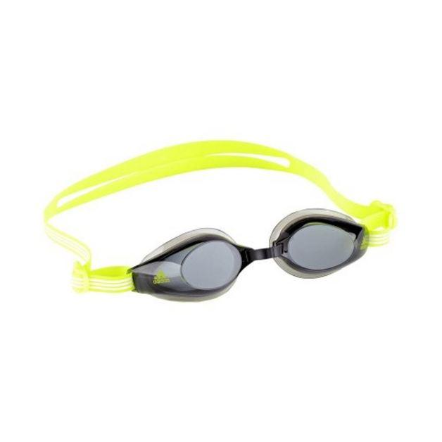 Adidas Aquastorm Goggles - Smoke Lens (Neon Yellow)
