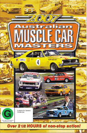 Highlights of the 2007 Australian Muscle Car Masters on DVD image