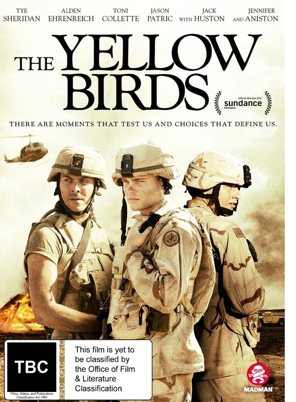 The Yellow Birds on DVD