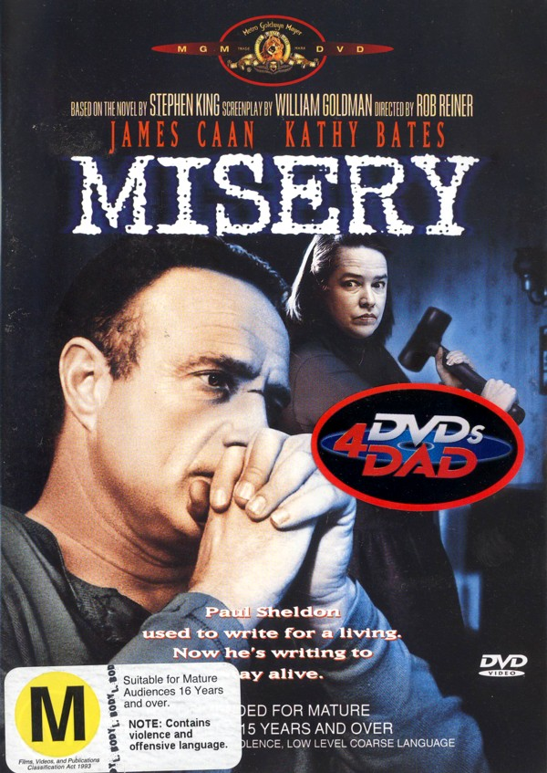 Misery on DVD image