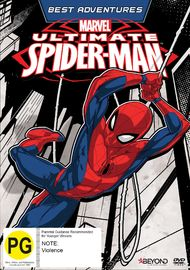 Ultimate Spider-Man: Best Adventures on DVD