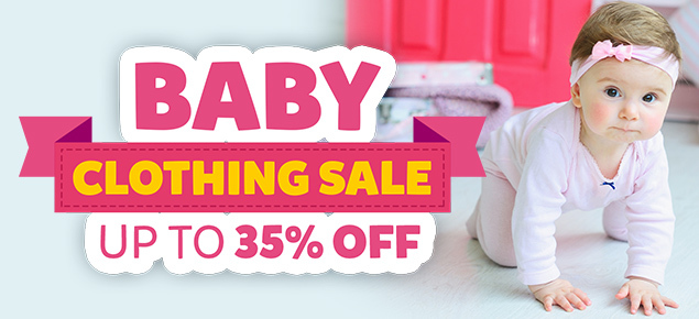 Baby Clothing Clearance - Up to 35 % off