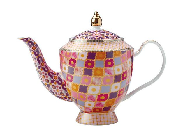 Maxwell & Williams Teas & C's: Kasbah Teapot with Infuser - Rose (1L)