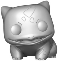 Pokemon: Bulbasaur (Silver Metallic) - Pop! Vinyl Figure