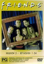 Friends - Season 5 on DVD