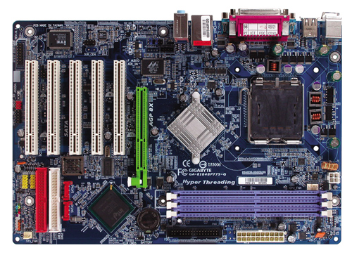 Gigabyte Motherboard LGA775 Intel GA-8I848P775-G image