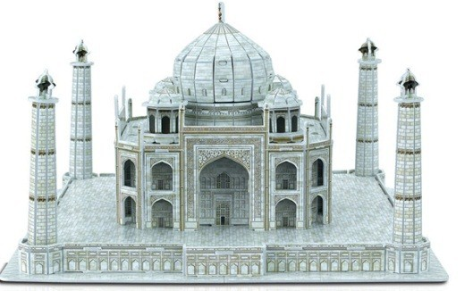 Taj Mahal 3d Image: 3D Puzzle - Taj Mahal