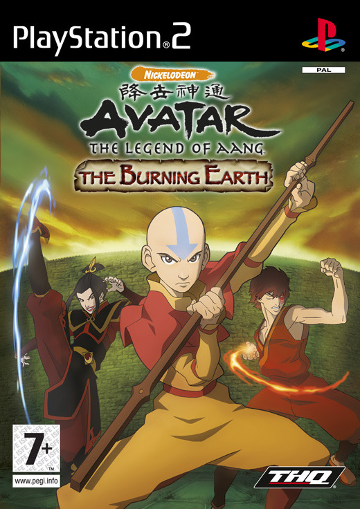 Avatar: The Burning Earth for PlayStation 2