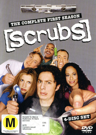 Scrubs - Season 1 on DVD