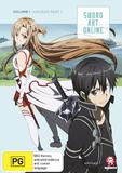 Sword Art Online Vol. 1: Aincrad Part 1 on DVD