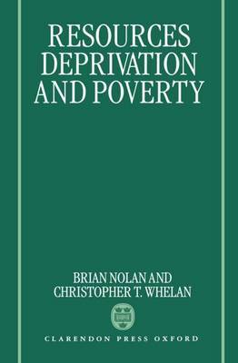 Resources, Deprivation, and Poverty by Brian Nolan image