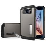 Spigen Slim Armour Case for Galaxy S6 (Gunmetal)