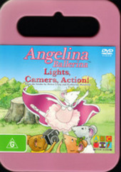 Angelina Ballerina: Lights, Camera, Action! on DVD