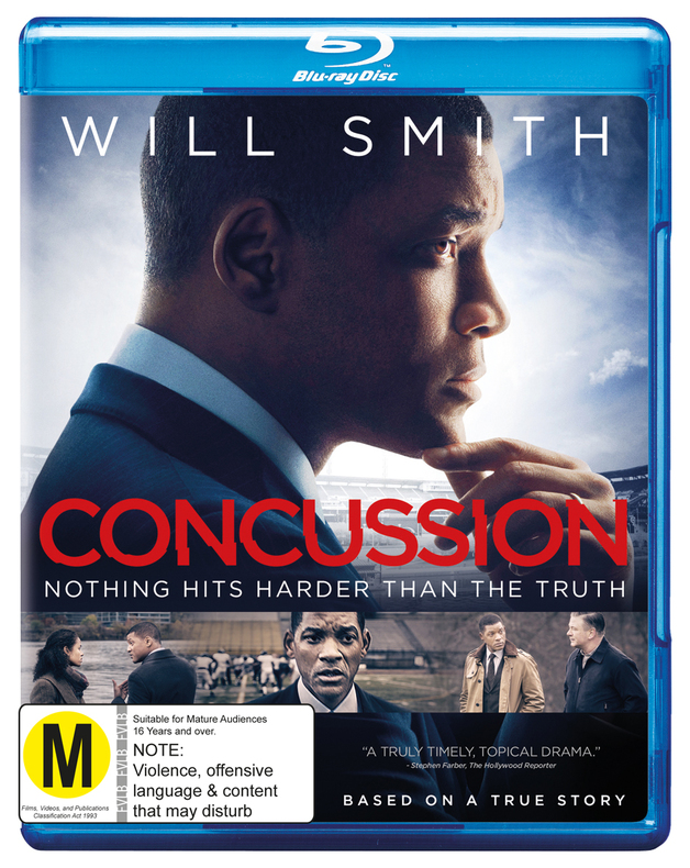 Concussion on Blu-ray