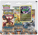 Pokemon TCG XY Steam Siege 3 Pack Blister: Rayquaza
