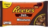 Reese's: Dark Chocolate Mini Peanut Butter Cups - 340g