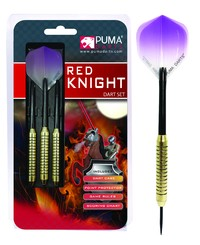 Puma: Red Knight Steel Darts - 22gm (Set of 3)