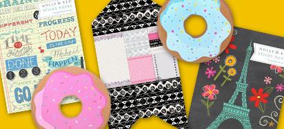 25% of all Novelty & Designer Sticky Notes!