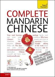 Teach Yourself Complete Mandarin Chinese by Elisabeth Scurfield