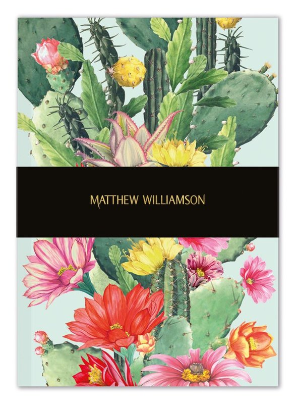 Museums and Galleries: Cactus Flowers - Deluxe Notebook