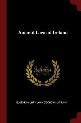 Ancient Laws of Ireland by Eugene O'Curry