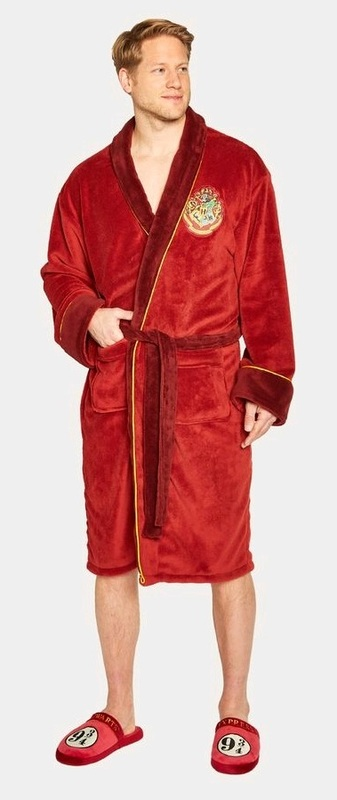 Harry Potter: Hooded Bathrobe - Platform 9 & 3/4