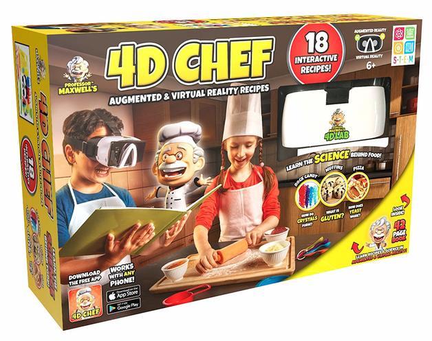 Professor Maxwell: 4D Chef - AR Science Kit