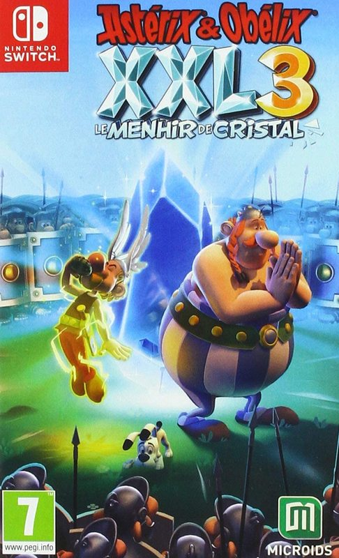 Asterix and Obelix XXL3 The Crystal Menhir for Switch