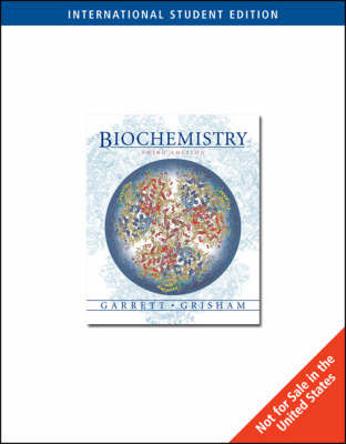 Biochemistry by Reginald H Garrett image
