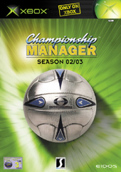 Championship Manager 02/03 for Xbox