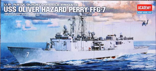 Academy USS Oliver Hazard Perry FFG-7 1/350 Model Kit