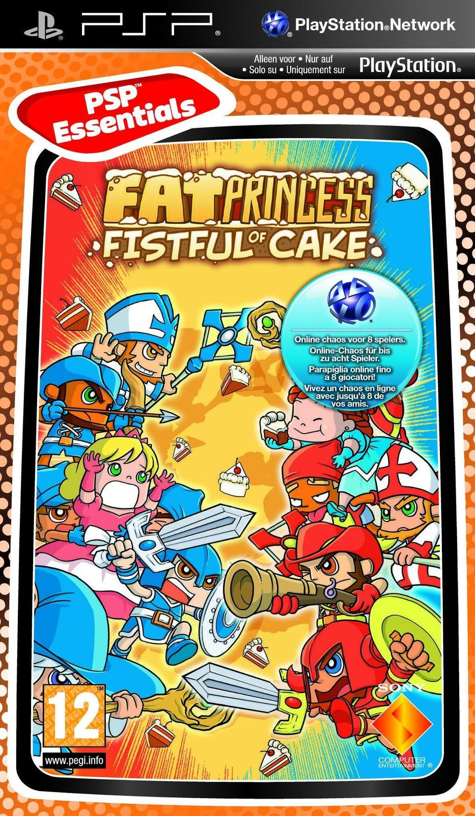 Fat Princess for PSP image