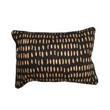 General Eclectic - Cushion Gold Dab - Black