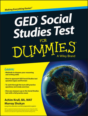 GED Social Studies For Dummies by Achim K. Krull