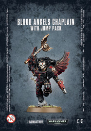 Warhammer 40,000 Blood Angels Chaplain with Jump pack