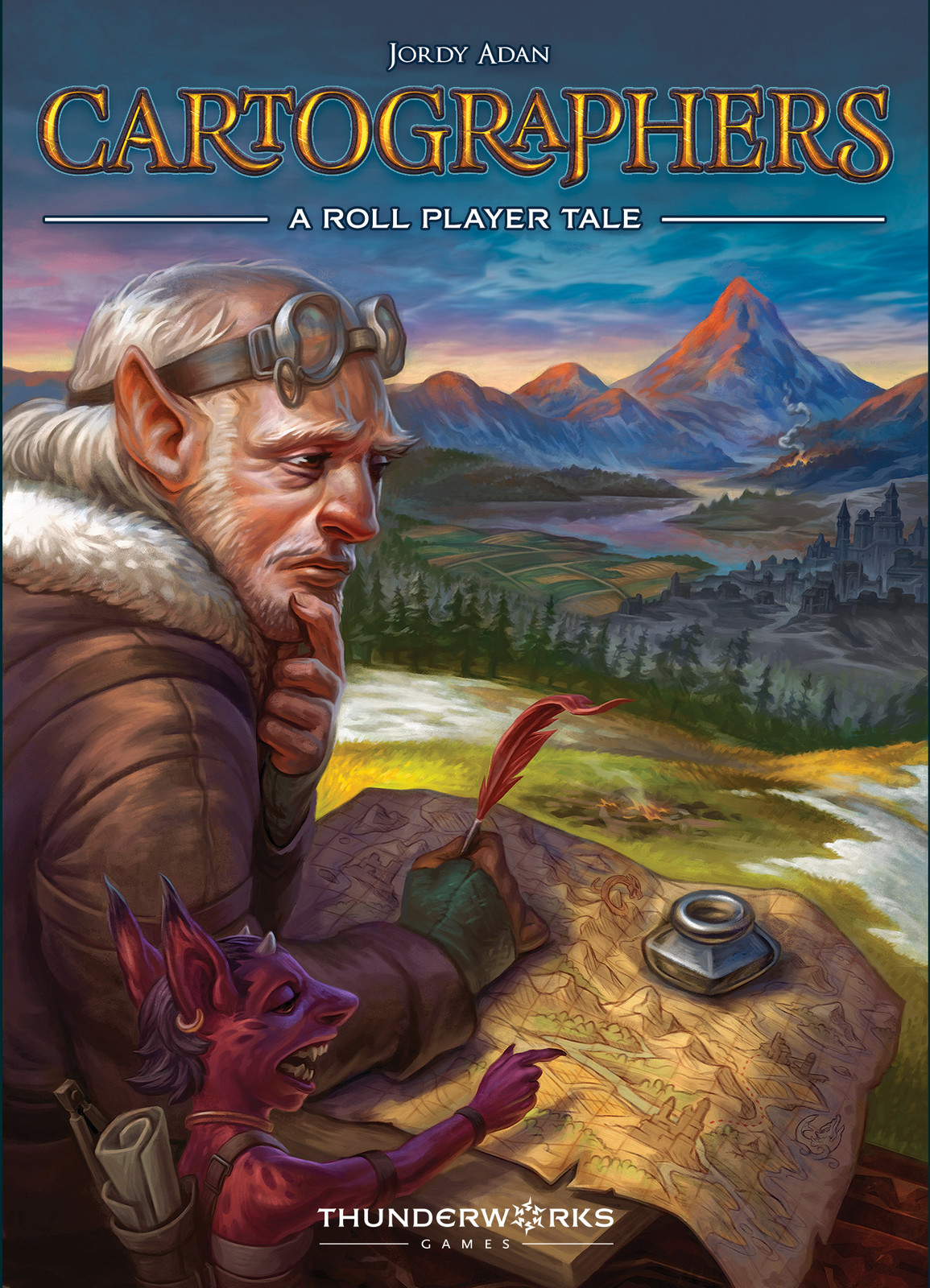 Cartographers: A Roll Player Tale - Board Game image