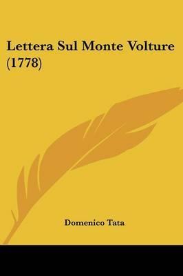 Lettera Sul Monte Volture (1778) by Domenico Tata image