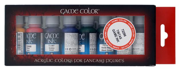 Vallejo Game Colour Ink Set
