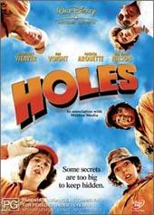 Holes on DVD