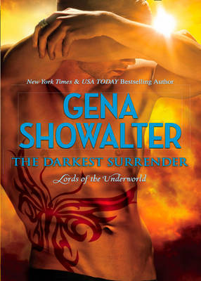 The Darkest Surrender (Lords of the Underworld) (UK Ed.) by Gena Showalter image