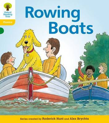 Oxford Reading Tree: Level 5: Floppy's Phonics Fiction: Rowing Boats by Roderick Hunt