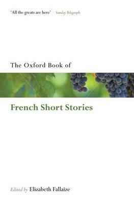 The Oxford Book of French Short Stories image