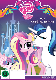 My Little Pony: Friendship Is Magic: The Crystal Empire on DVD