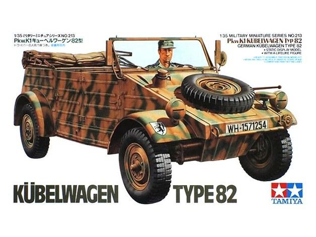 Tamiya 1/35 German Kubelwagen Type 82 - Model Kit