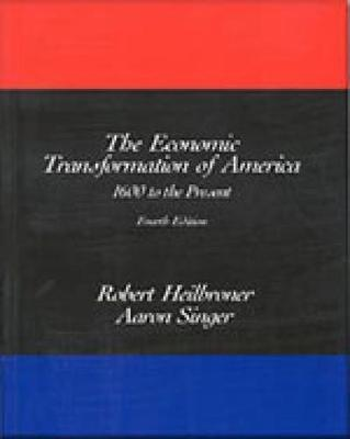 The Economic Transformation of America by Alan Singer image