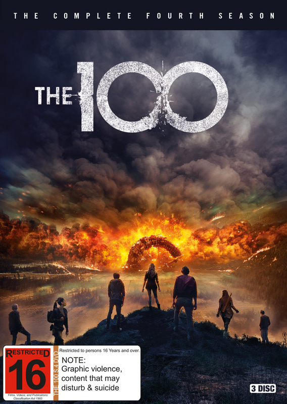 The 100 - The Complete Fourth Season on DVD