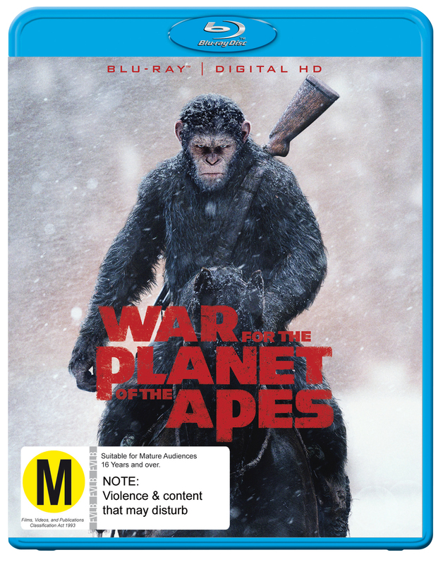 War for the Planet of the Apes on Blu-ray