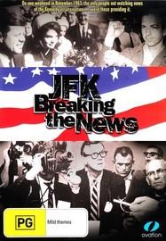 JFK - Breaking The News on DVD