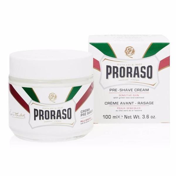 Proraso: White Pre-Shave Cream - Sensitive Skin (100ml)